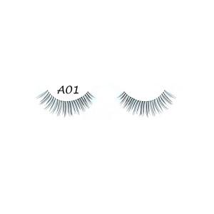 5 Pairs Lot Black Cross False Eyelash Soft Long Makeup Eye Lash Extension