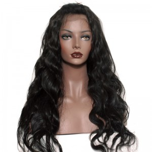 Full Lace Human Hair Wigs 250% Density Wig Pre-Plucked Natural Hair Line with Baby Hair Body Wave
