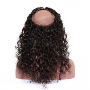 360 Lace Frontal Closure Loose Wave Frontal Closure Brazilian Virgin Hair 360 Lace Band Closure