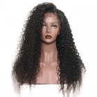 Malaysian Deep Curly 250% High Density Lace Front Wig