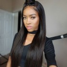 360 Lace Wigs Silk Straight 180% High Density Lace Front Wigs With Baby Hair
