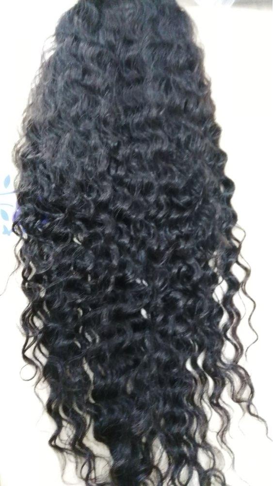 250% Density Full Lace Human Hair Wigs 7A Brazilian Hair Deep Curly Lace Front Human Hair Wigs
