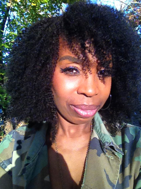 Natural Color Mongolian Afro Kinky Curly Virgin Human Hair Weave 3