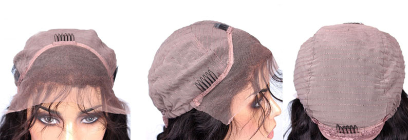 youmayhair.com full lace wig cap,Full Lace with Stretch from ear to ear,cap3